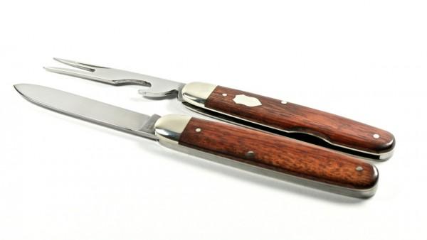 Hartkopf Bestecktaschenmesser Rotholz