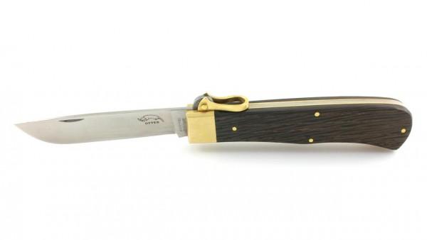 Otter Sicherheits Schließmesser Mooreiche