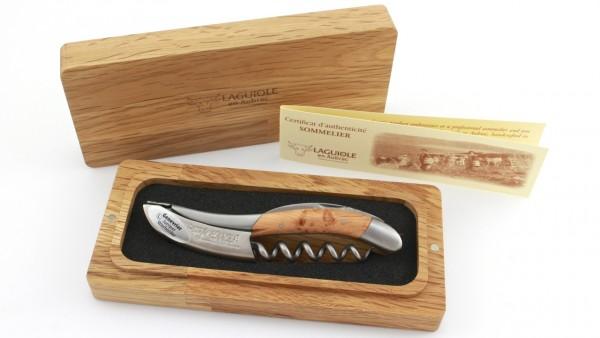 Laguiole en Aubrac Laguiole Sommelier knife Juniper