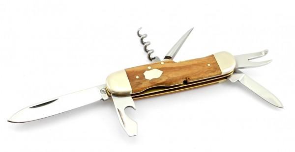 Hartkopf Militär-Taschenmesser Olivenholz