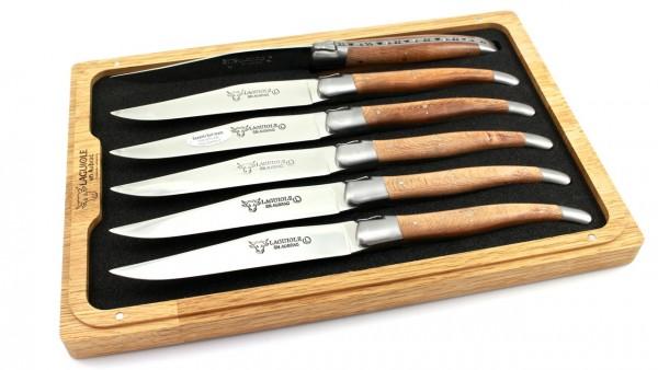 Laguiole en Aubrac Platane Laguiole Steakmesser