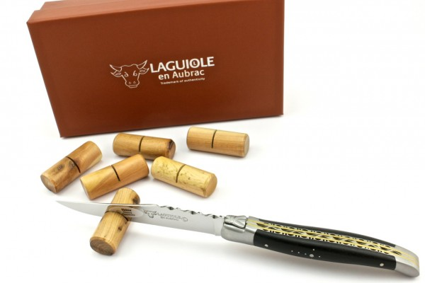 Laguiole en Aubrac Messerbänkchen Wacholder