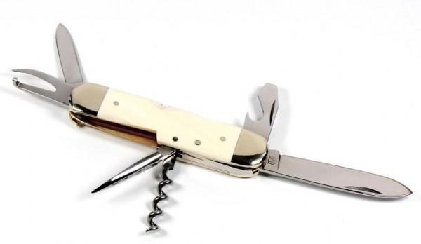 Hartkopf Militär-Taschenmesser Elfenbein