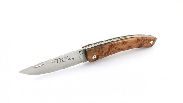 TOM FLEURY Thiers Messer Thuyawurzel 14C28 Sandvik Stahl