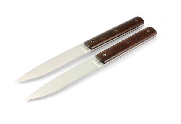 PERCEVAL 9.47 Steak knives Set Macassar Ebony