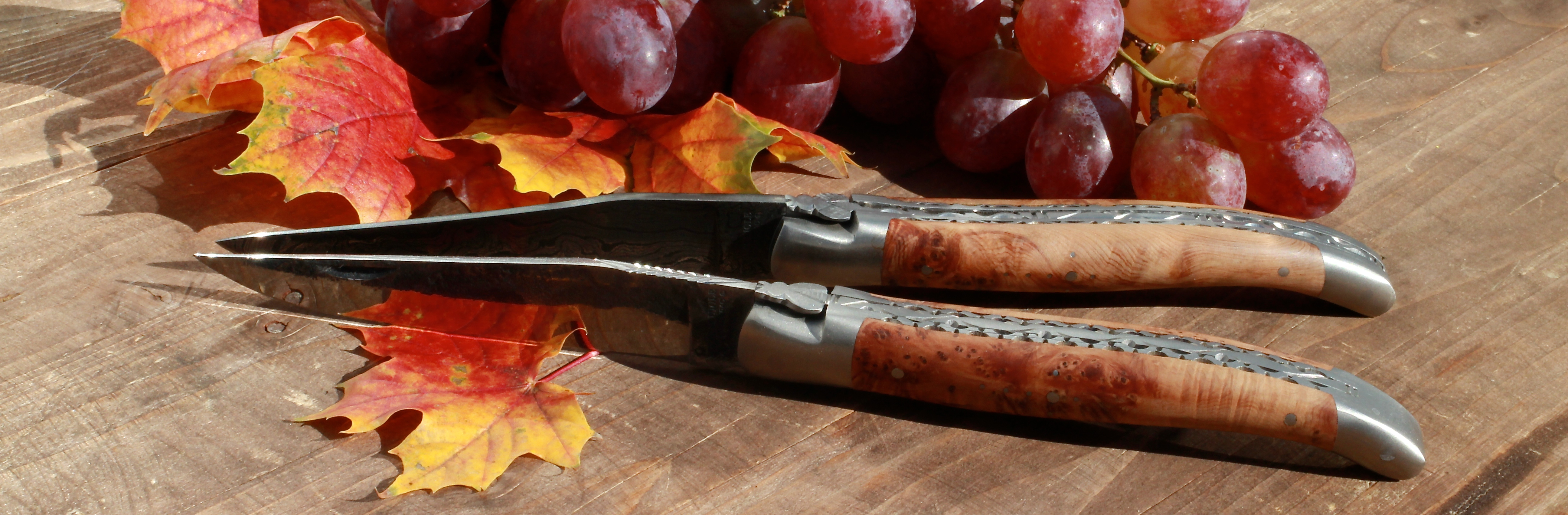 Laguiole knives - 100% handmade in France