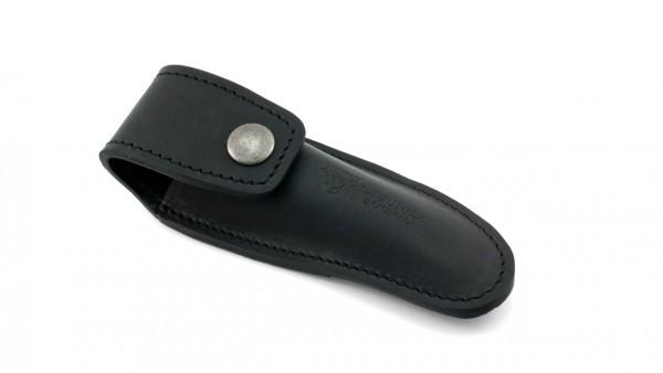 Laguiole en Aubrac MAYA leather case for the belt 12 cm