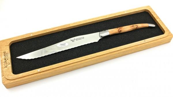 Laguiole en Aubrac Laguiole Brotmesser Wacholder 18 cm