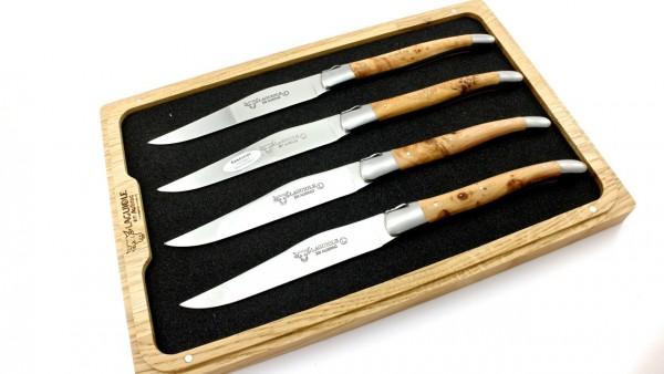 Laguiole en Aubrac steak knives set Juniper