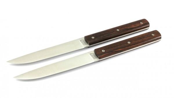 PERCEVAL 888 Steak knives Set Macassar Ebony