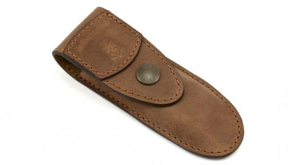 Gürtel-Etui aus weichem Leder Le Camarguais mit Prägung