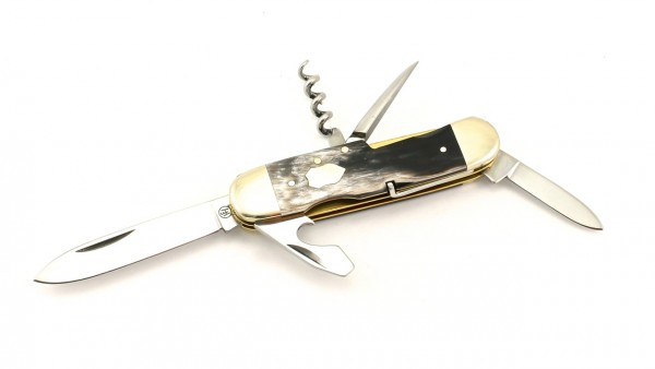 Hartkopf Militär-Taschenmesser Bunthorn