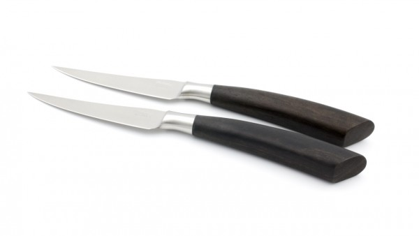 Saladini Steakmesser-Set 2-tlg. Ebenholz