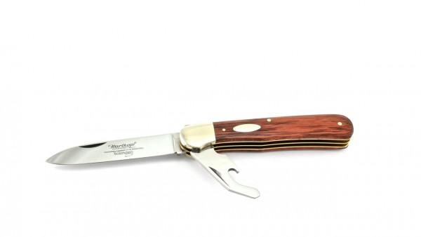 """Hartkopf Solingen pocketknife red wood """"featherknife"""""""