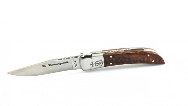 Le Camarguais knife snakewood 12 cm