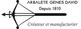 Arbalete Gênes David knives since 1810