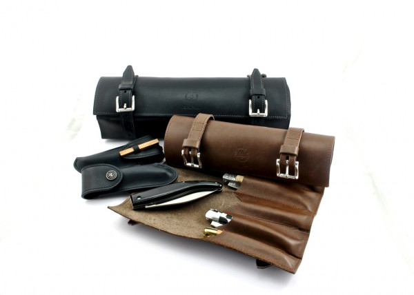 MAX CAPDEBARTHES Messertasche Leder für 6-24 Messer
